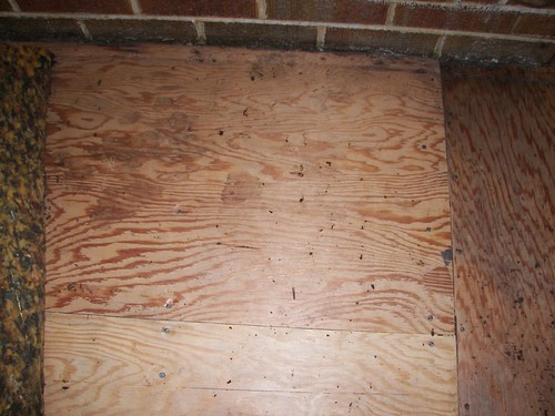 Dirty subfloor