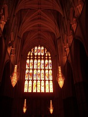 Westminster Abbey - sunset