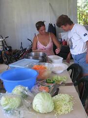 Helping Prepare Food