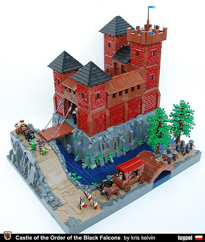 LEGO Black Falcons castle