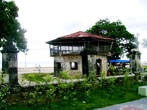 The bantayan sa hari in the plaza