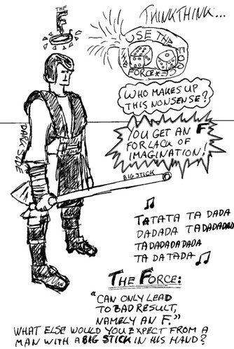 Use The Force to get an F