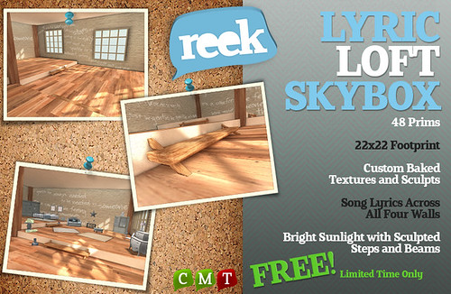 Reek - Lyric Loft Skybox