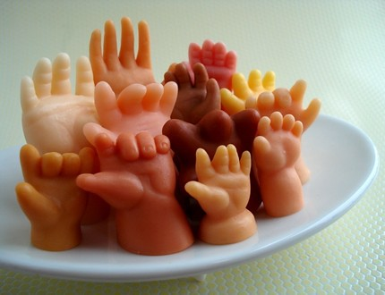 the estate of things chooses hands soap set