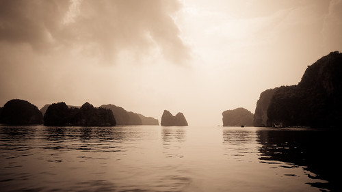 The classic Halong Bay