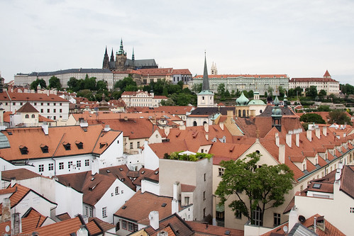 Malá Strana and Pražský Hrad (Prague Castle) by you.