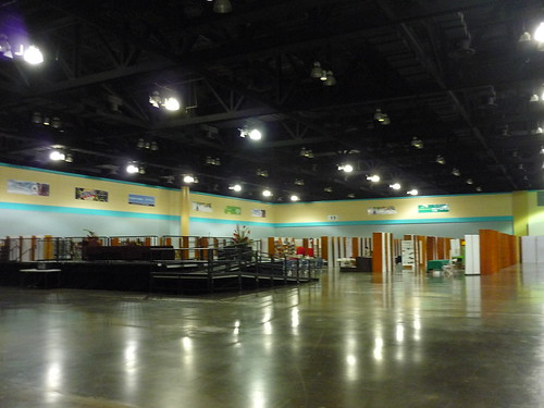 Preparations for the book fair in San Juan