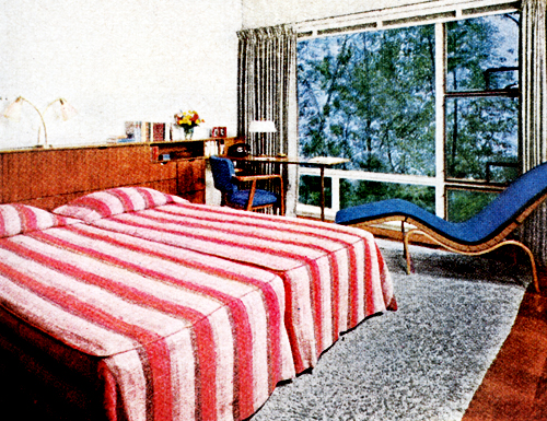 Early \'50s Bedrooms (1950-55) | Mid-Century Living