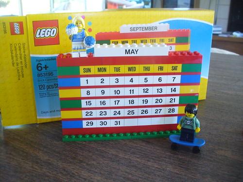 Brick Calendar 6