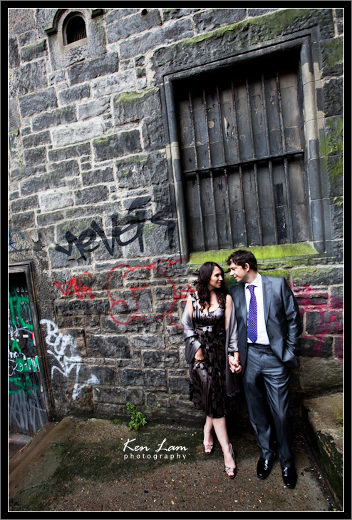 Caroline & Andrew - Pre-wedding in Edinburgh