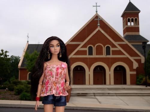 Poppy At The Church