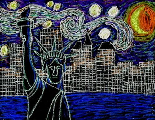 Van Gogh Visits Manhattan