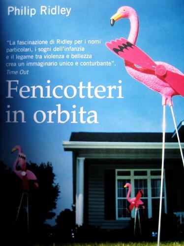 Philip Ridley, Fenicotteri in orbita, Salani 2009, graphic designer: GrafCo3, alla copertina: ©Mint Girl Productions Getty Image, (part.), 5