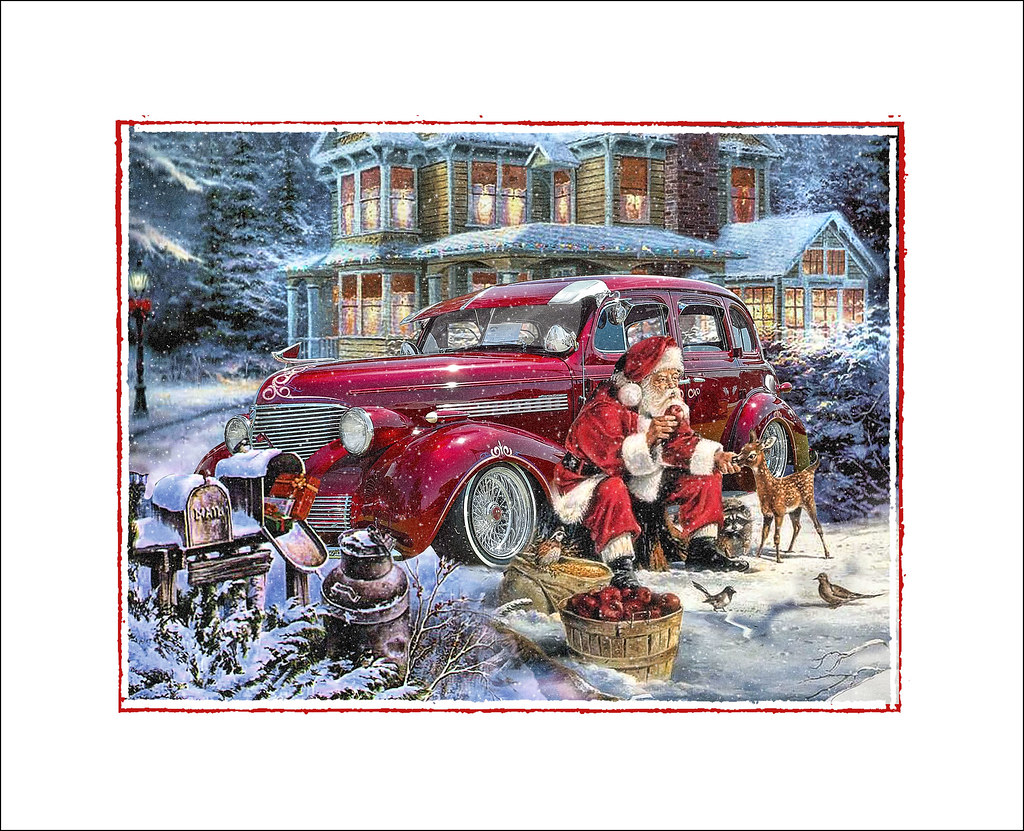 Show Us Your Hot Rod Related Christmas Cards The HAMB