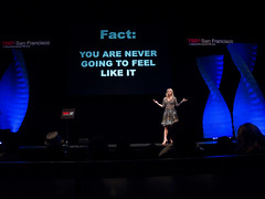 TEDx SF 2011 Alive - Mel Robbins ©Suzie Katz #4745
