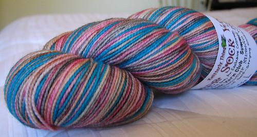 Damsel sock yarn