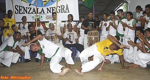 Capoeira Senzala Negra 42 por você.