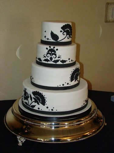 3680373007 48a76838b0 Baú de ideias: Decoração de casamento preto e branco