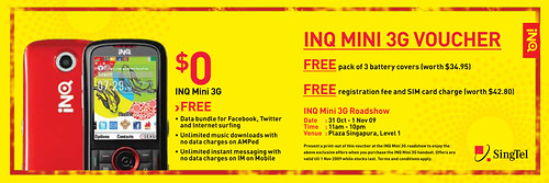 INQ Mini E-Voucher Singapore