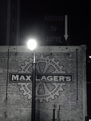 Max Lager's, Brewed to Serve
