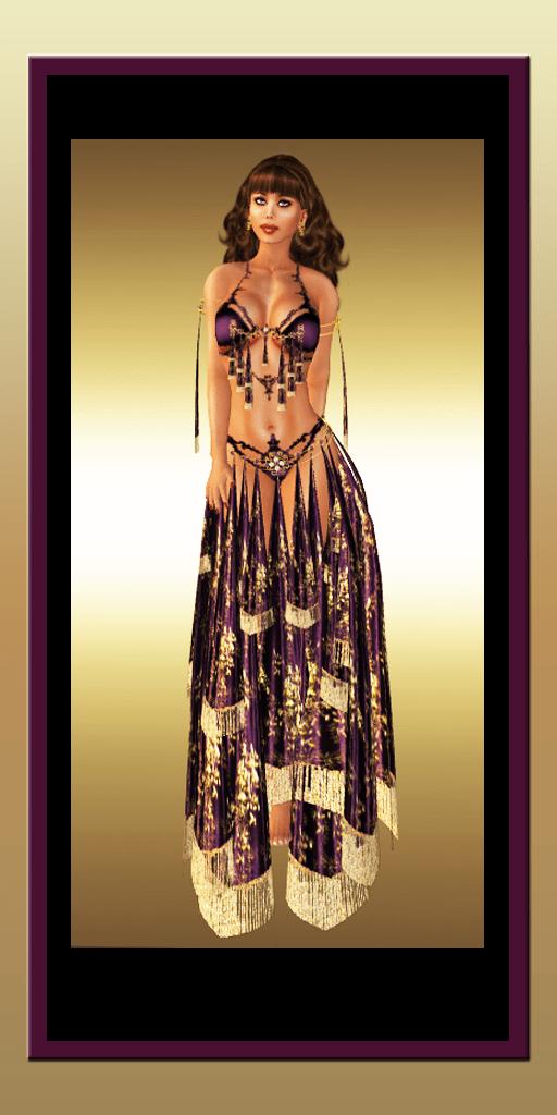Opulence Aubergine by Silk & Satyr