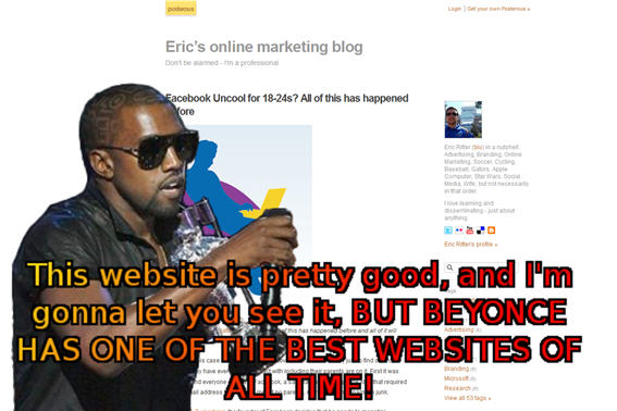 Kanye West kanyelicious MTV VMA 2009