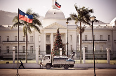 Haiti's National Palace, before the quake of January 12, 2010