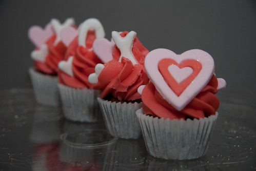 Mini Valentine's Cupcakes from Cirencester Cupcakes