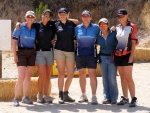 Left to Right: Julie Golob, Jessie Abbate, Randi Rogers, Kay Miculek, Janae Sarabia & Maggie Reese
