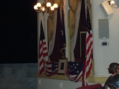 Presidential Box at Fords Theatre