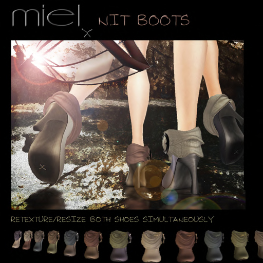 MIEL NIT BOOTS PROMO PIC