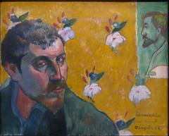 Zelfportret met portret van Bernard