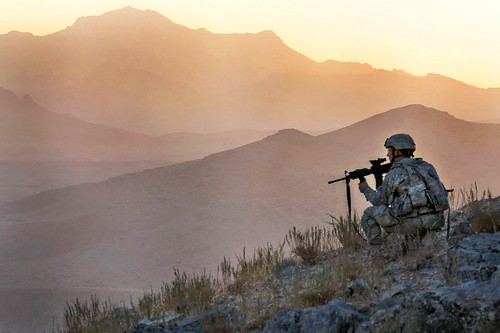 soldier in Afghanistan.