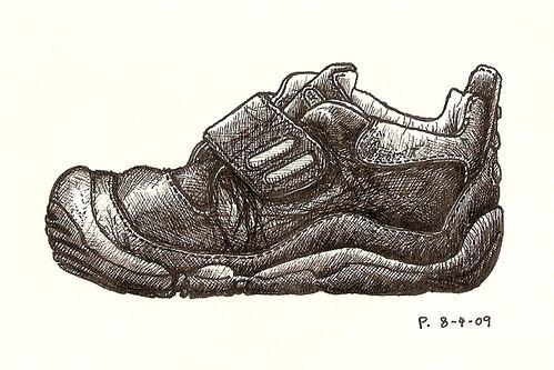 #5: big-toe shoe (side view)