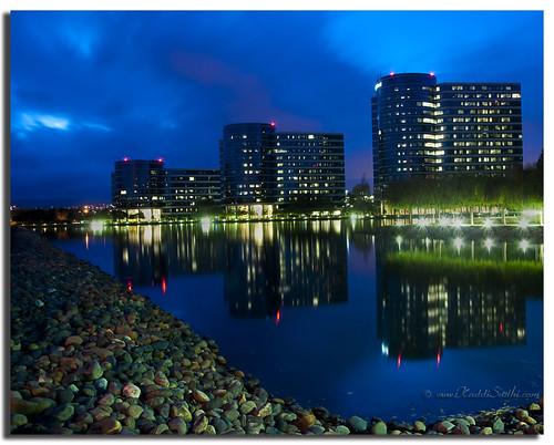Oracle at night