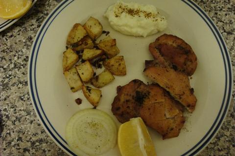 FOOD - Roasted Potatoes n Chicken