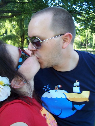 Cant stop kissing my FIANCE!