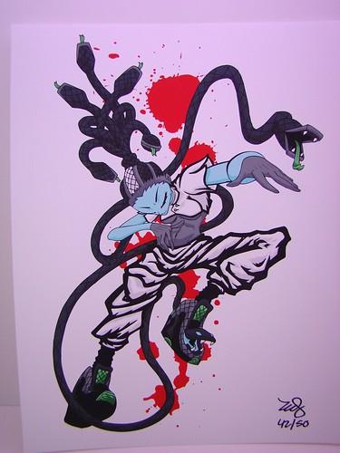 Erick Scarecrow Brooklyn boa Medusa (2)
