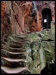 Kynaston's Cave steps