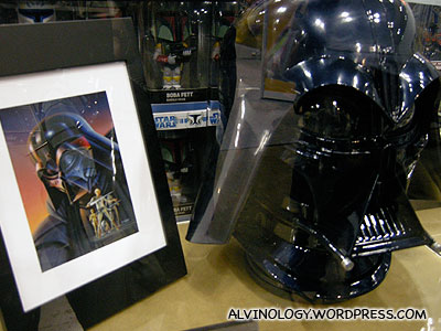 Darth Vaders head