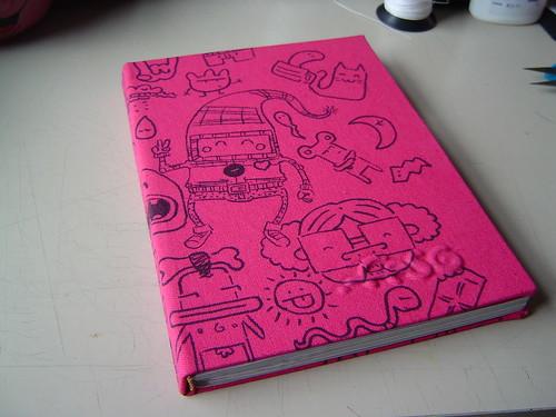 Segundo .fasoskine, meu sketch book