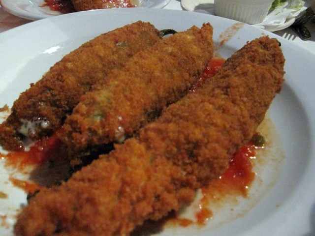 taqueria del sol - chile rellenos phallic style by you.