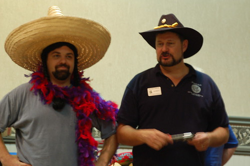 A couple of banditos.. or man squaw, you take your pick..