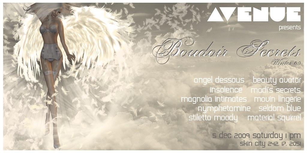 AVENUE Models :: Boudoir Secrets Winter 09