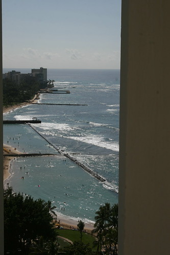 Waikiki, view from my room