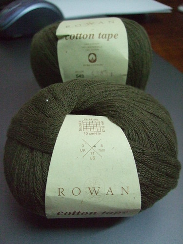 Brown Rowan Cotton Tape