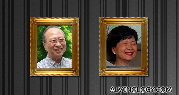 Dr and Mrs Tan Cheng Bock