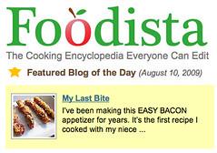 Foodista Blog of the Day, MyLastBite.com
