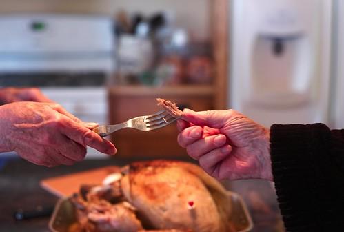 Sharing, Thanksgiving, 2009