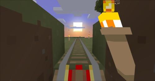 Minecraft - Rollercoaster 5